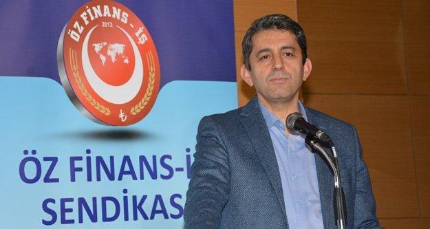 Öz Finans İş Sendikası Genel Başkanı Eroğlu'dan 1 Mayıs Mesajı