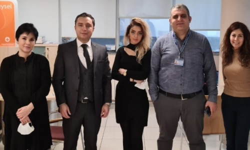 İSTANBUL HALKBANK ŞUBELERİ ZİYARET EDİLDİ